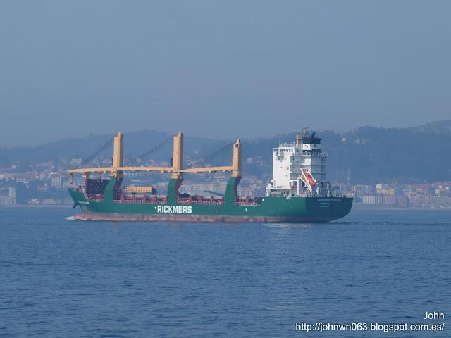 rickmers tianjin, cargo ship, carga general