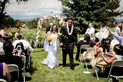 Outdoor wedding ceremony space at Hidden Valley Country Club Reno l Lauren Lindley Photography l Take the Cake Event Planning