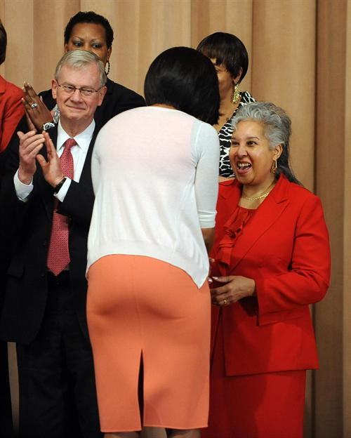 Michelle obama fat ass