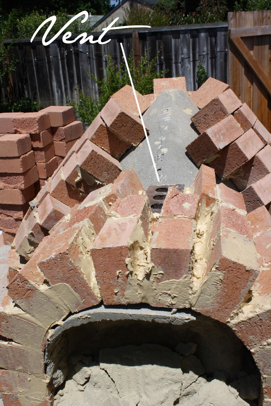 how to build mud brick oven