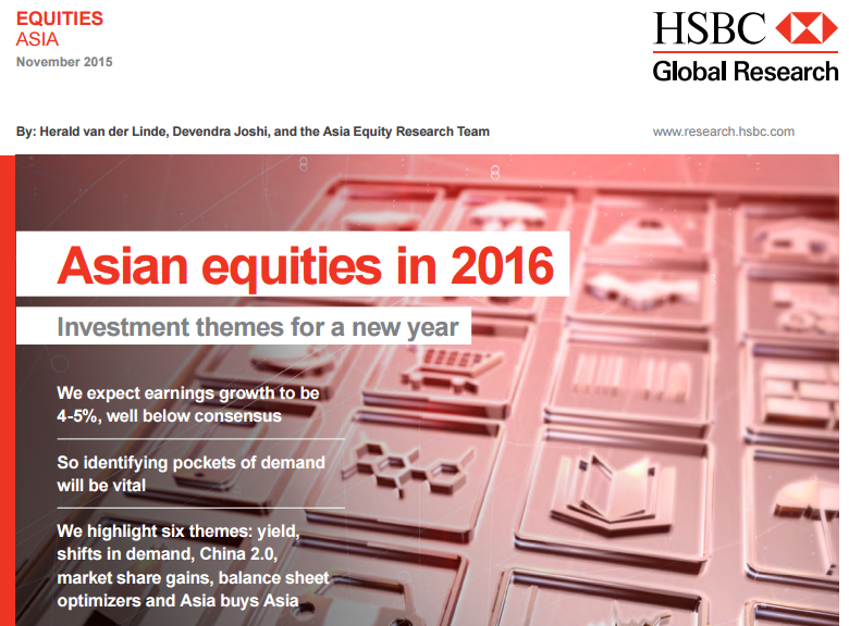 asian equities in 2016 investment themes for a new year singapore stock market news