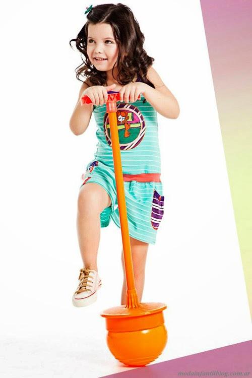 ropa de moda niñas verano 2014