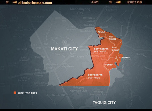 New Makati City Map 2013