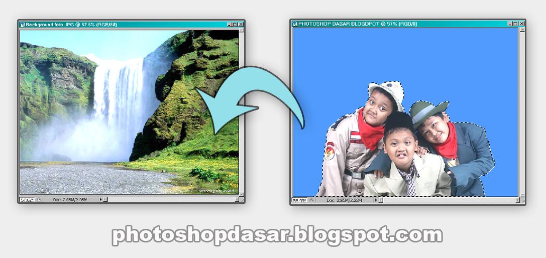 Cara kedua : aktifkan file foto tiga bocah di studio sebagai model ...