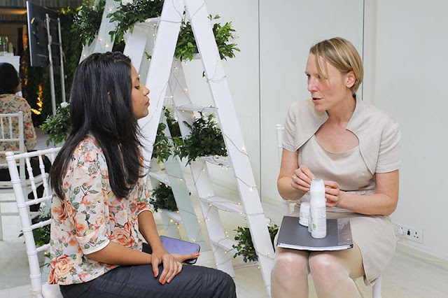 Dr Kerstin Meyer-Lipp Wella Professionals Elements Range Launch