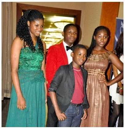 Omotola-Ekeinde-children-Pictures