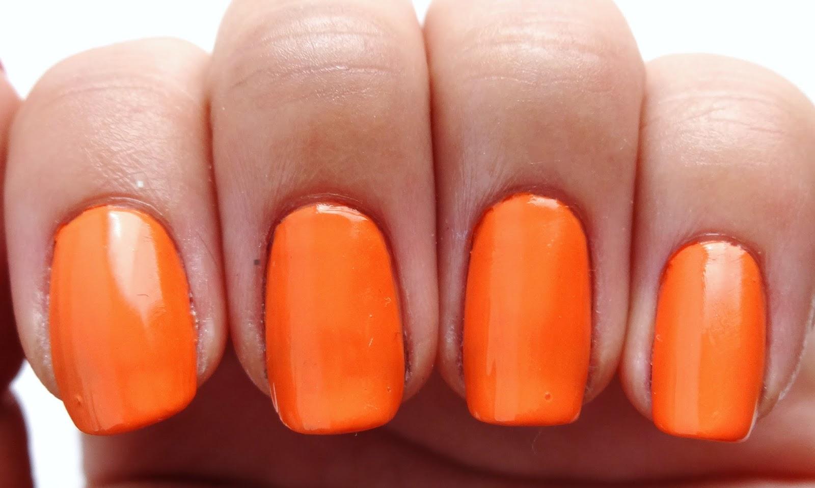 Orange Base Color