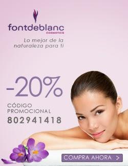 Ahora un 20% de descuento en Fontdeblanc