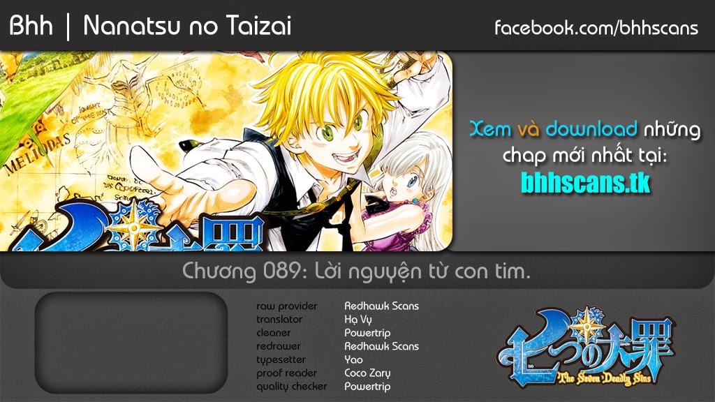 Nanatsu no Taizai chap 89 Trang 1 - p0sixspwn.com