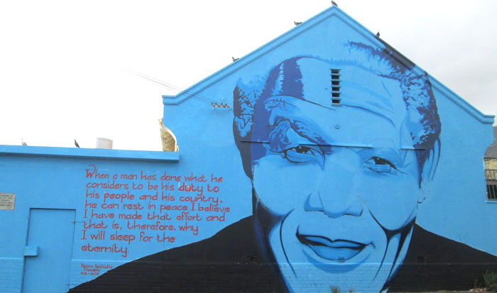 La Böcöque. Aventuras en Sudáfrica. graffiti mandeka
