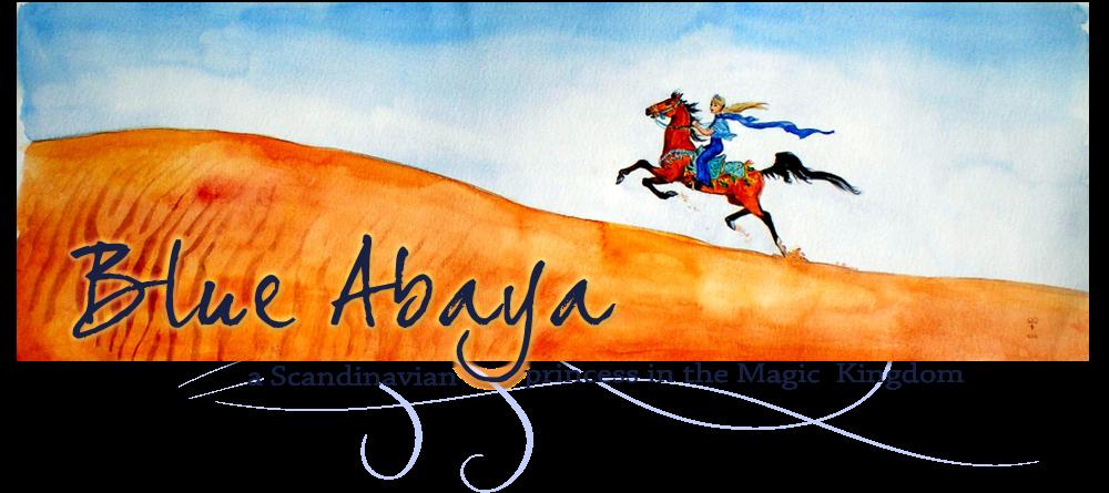 Blue Abaya