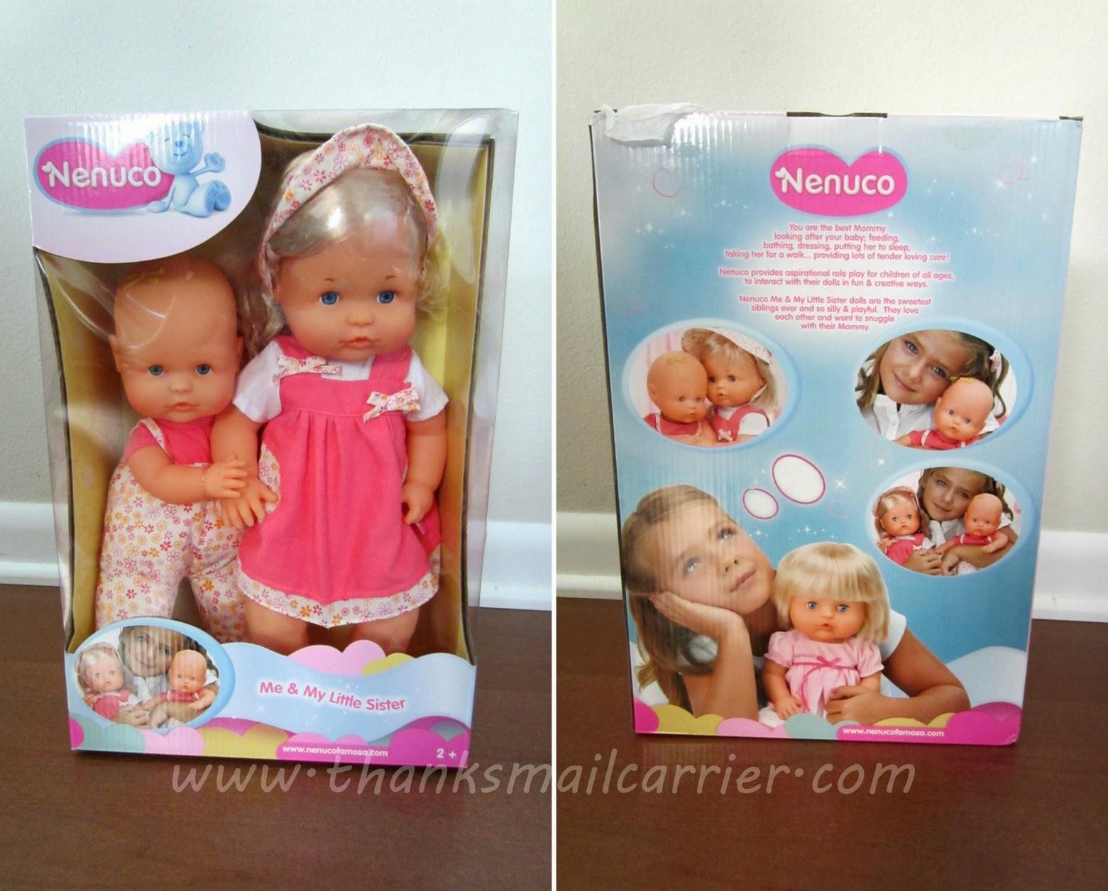 Nenuco sister dolls