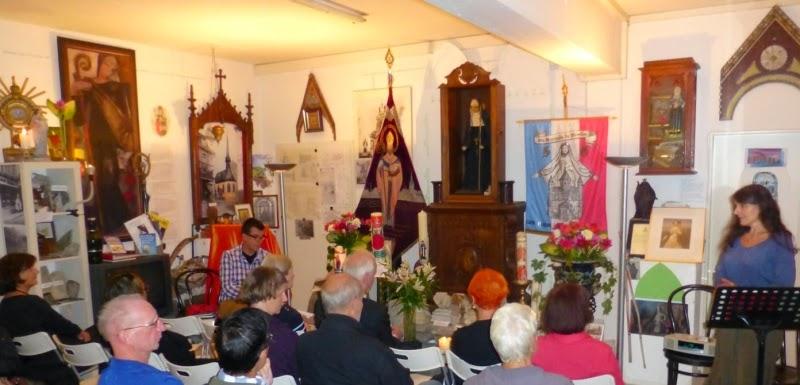 Konzertlesung in der Gertrudis-Kapelle Bonn