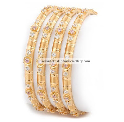 Daily wear Indian Gold Bangles