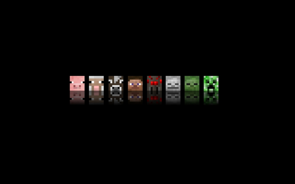 free wallpaper minecraft wallpaper