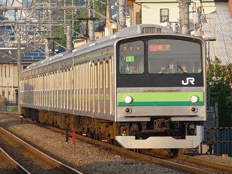 横浜線 根岸線直通 快速 磯子行き 205系(土日1本運行)