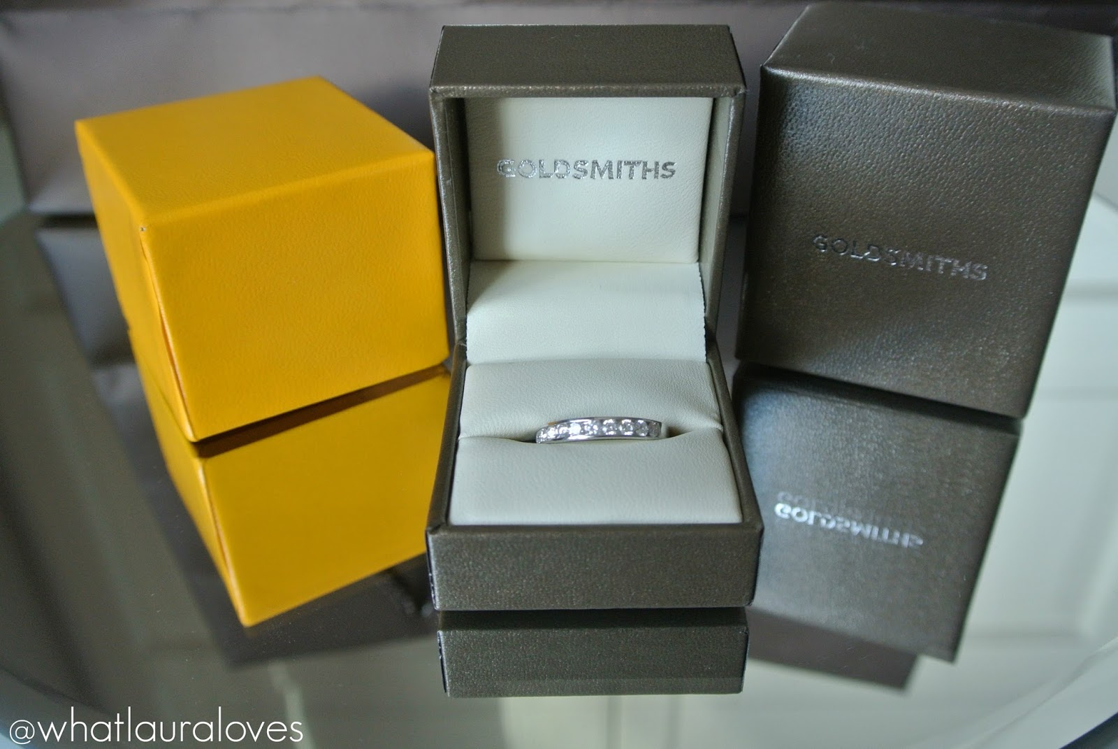 Northern Goldsmiths Newcastle Diamond Eternity Ring