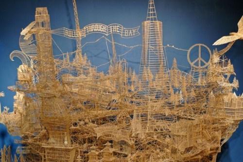 Information Hub Of Besties Amazing Toothpick Sculptures