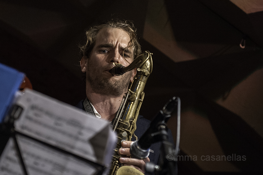 Tobias Meinhart, Jamboree Jazz Club, Barcelona, 7-11-2015