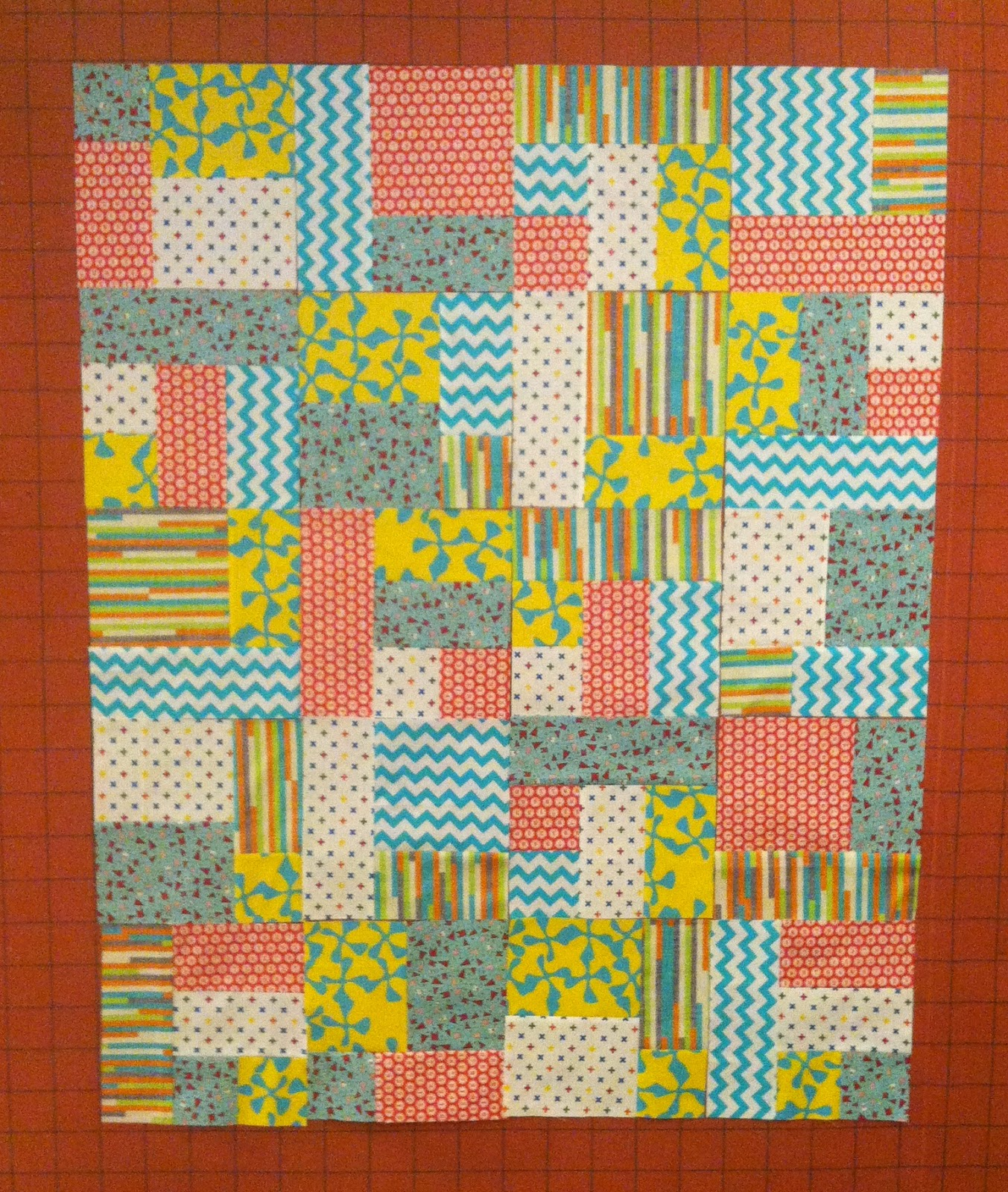 Yellow Brick Road Baby Quilt