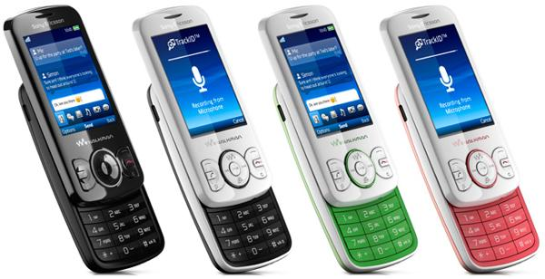Sony Ericsson Spiro W100i User Manual