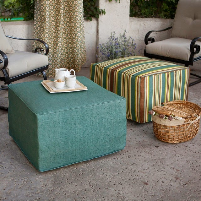 the daily find ulani outdoor square pouf ottoman