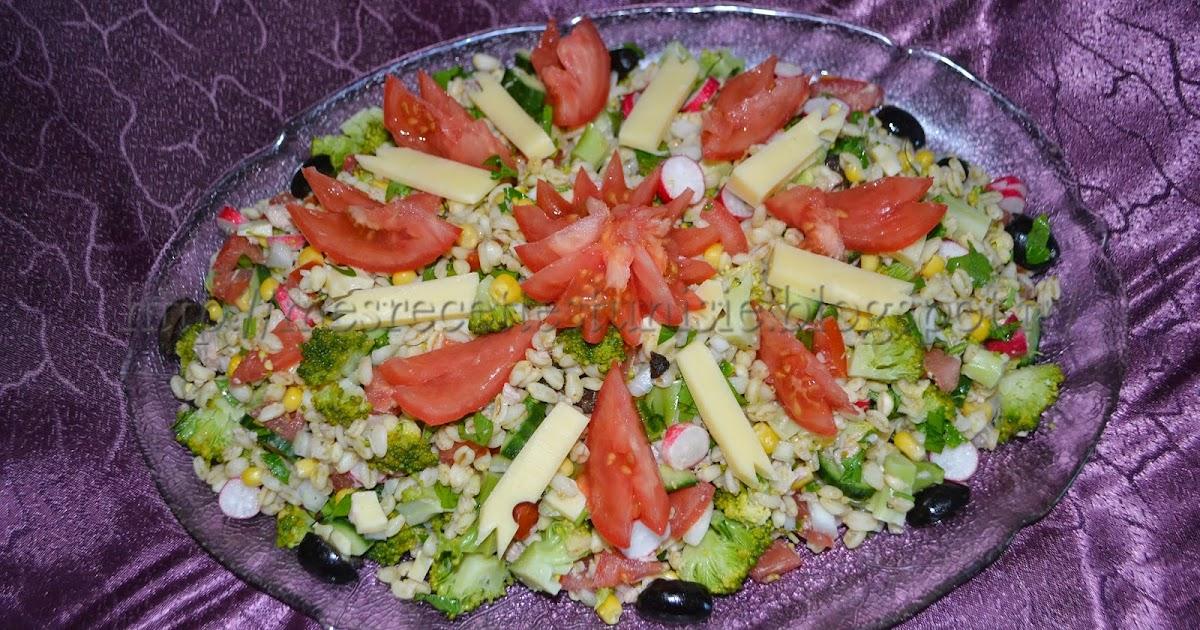recettes tunisiennes jiji salade de bl. Black Bedroom Furniture Sets. Home Design Ideas