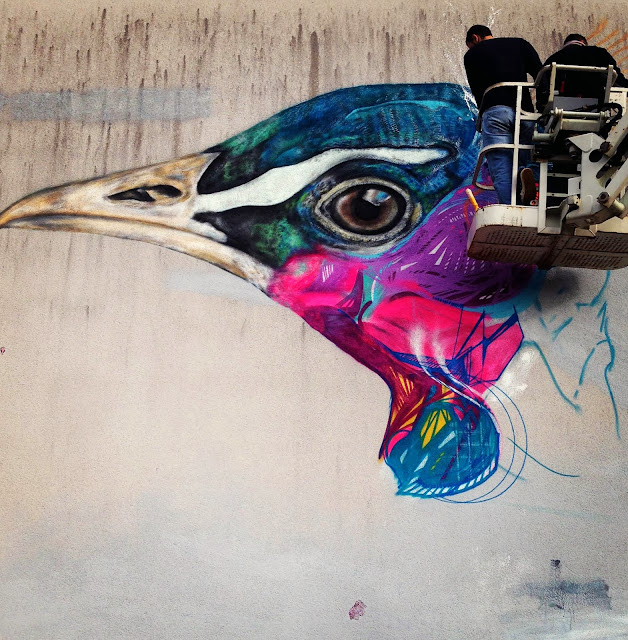 Street Art By L7M For Goodbye Monopole 2 Festival In Luxembourg City, Luxembourg. 2