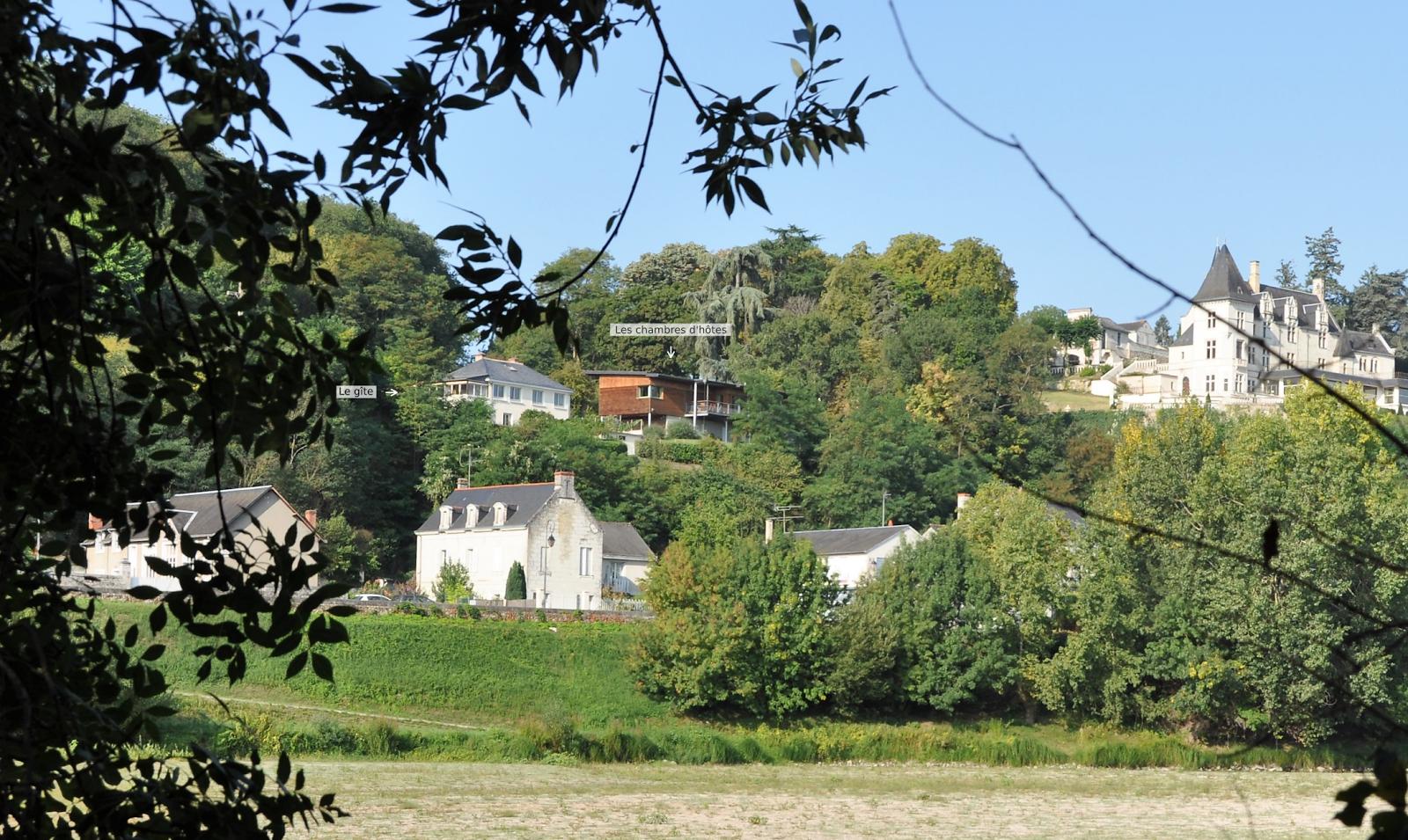 Vue panoramique sur la Loire