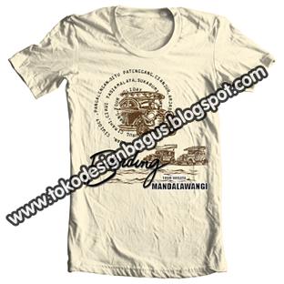 Design-T-shirt-Wisata Bandung