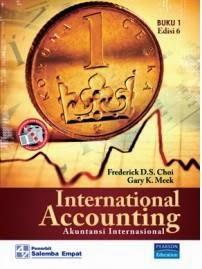 Buku Akuntansi Internasional 1 dan 2 oleh Choi dan Gary K