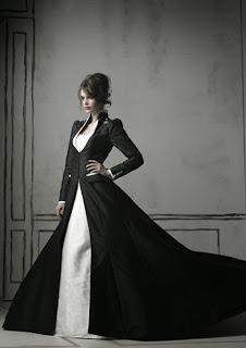 Vestidos de Novia Blanco y Negro, parte 2