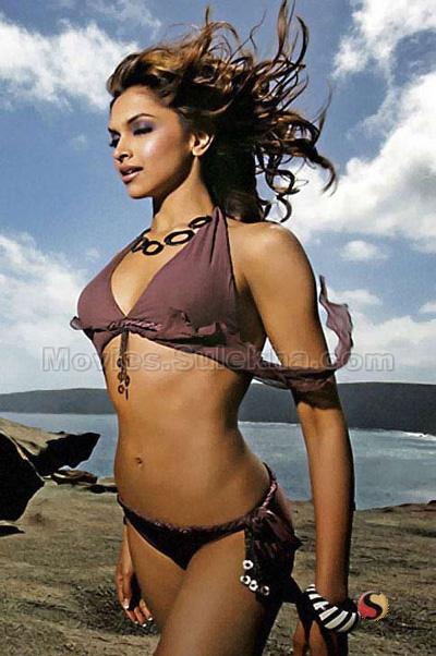 Deepika Padukone Bikini Pictures
