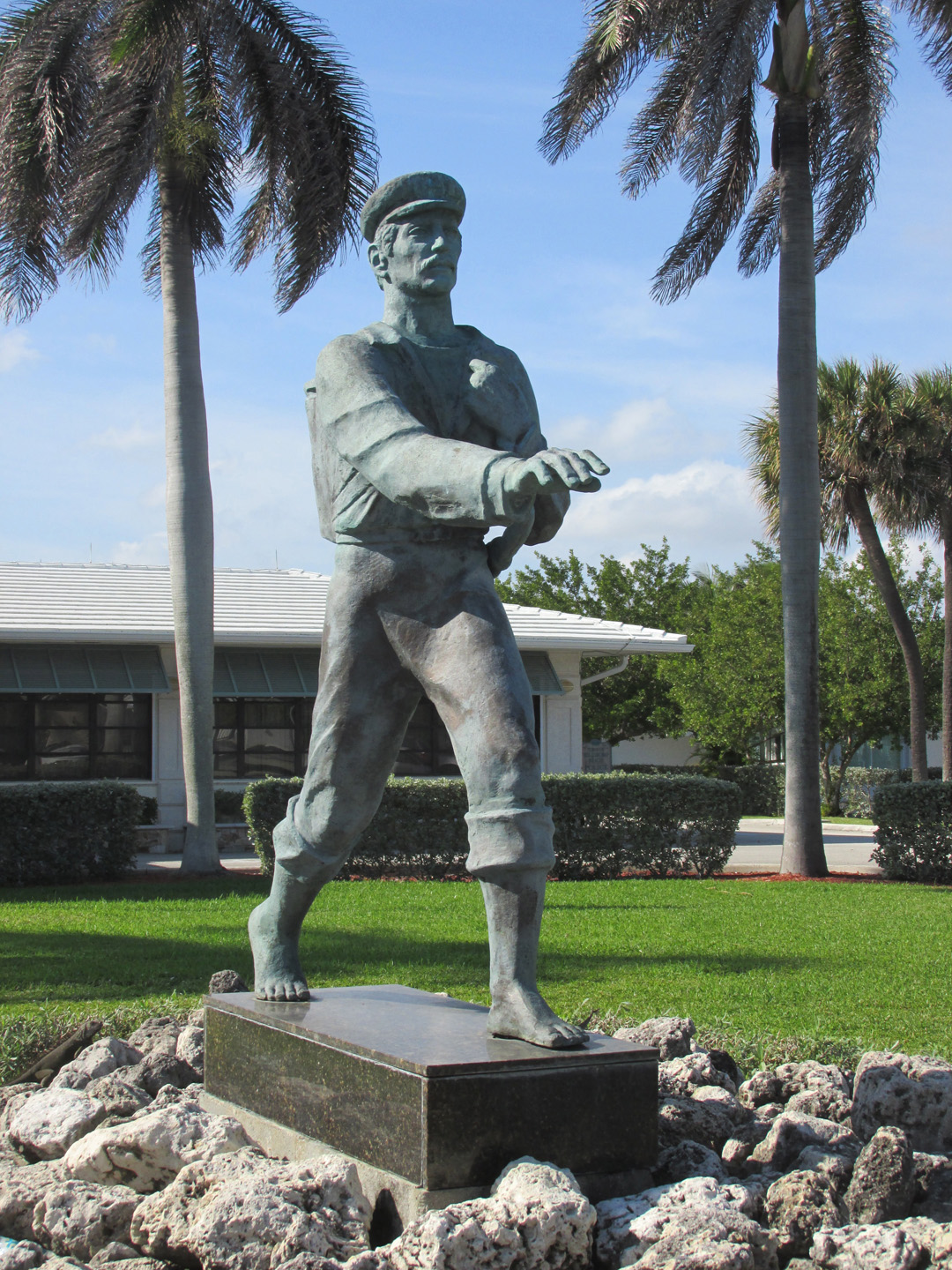 Baring their soles to deliver the mail: The barefoot mailman statue of  Hillsboro Beach, Florida