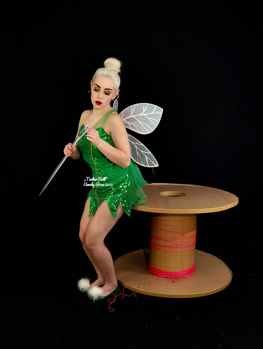 Pics of tinker bell necked nude animated cutie