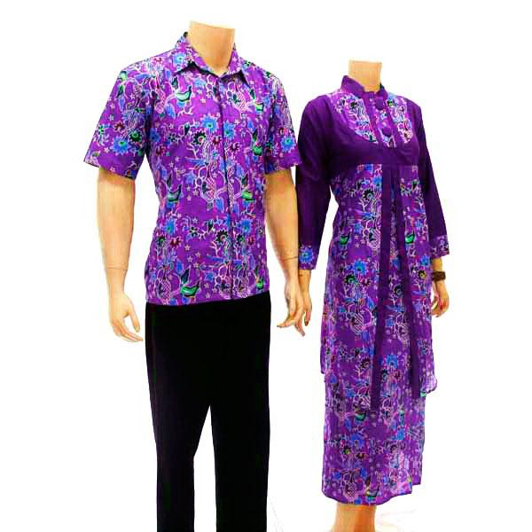 Baju Batik Muslim Gamis Sarimbit Model Baju Batik 2015