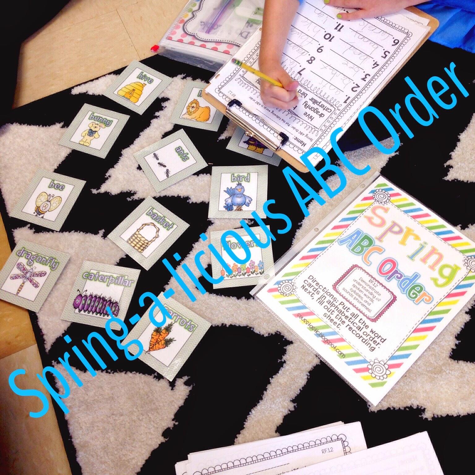 http://www.teacherspayteachers.com/Product/Spring-a-licious-ELA-Math-Unit-Common-Core-Aligned-637167