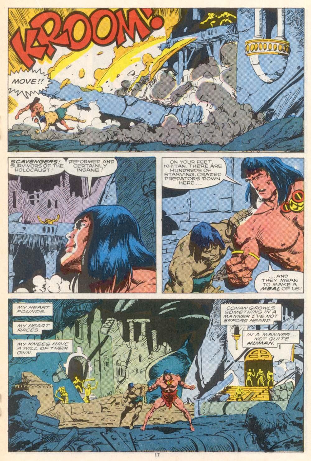 Conan the Barbarian (1970) Issue #208 #220 - English 14