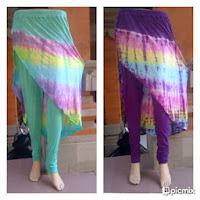 Rok Cantik Tie Dye Bali Pelangi