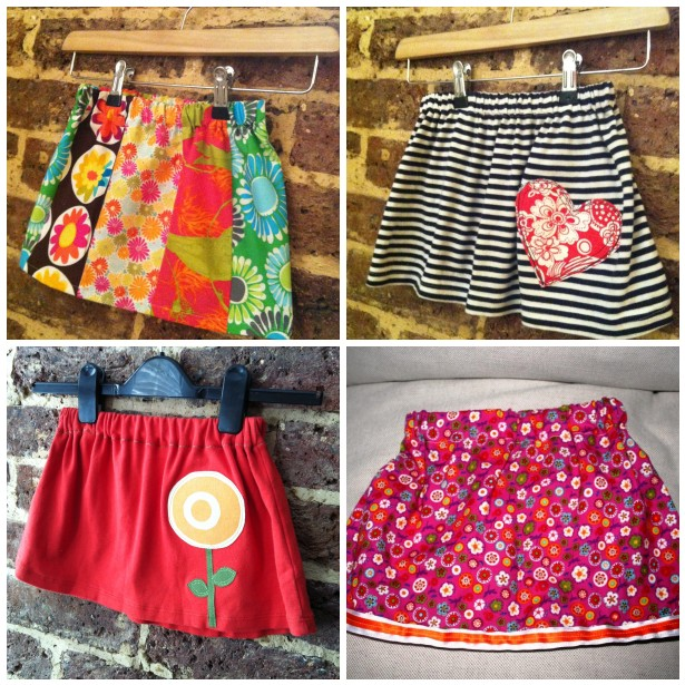 Сшить юбку для девочки своими руками без выкройки 160