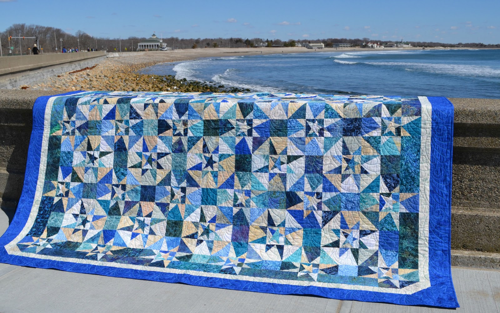 Seaside Stitches: Ninigret Raffle Quilt : seaside quilt - Adamdwight.com