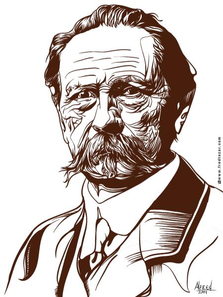 Vector Pop Art Karl Benz tokoh penemu mobil bensin