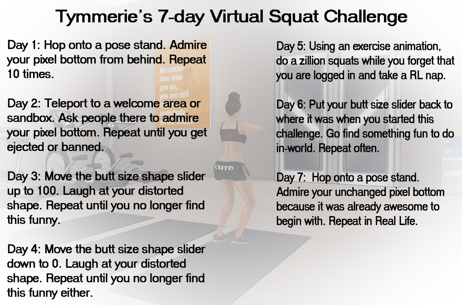 30 Day Squat Challenge Chart To Print Unlike the rl challenges,
