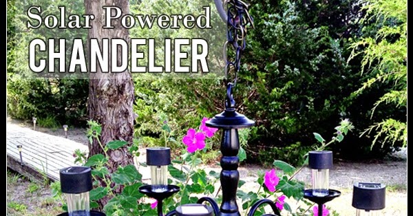 not just paper and glue summer solar powered chandelier, Lighting ideas