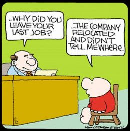 ziggy comic says the company relocated and didn't tell me where