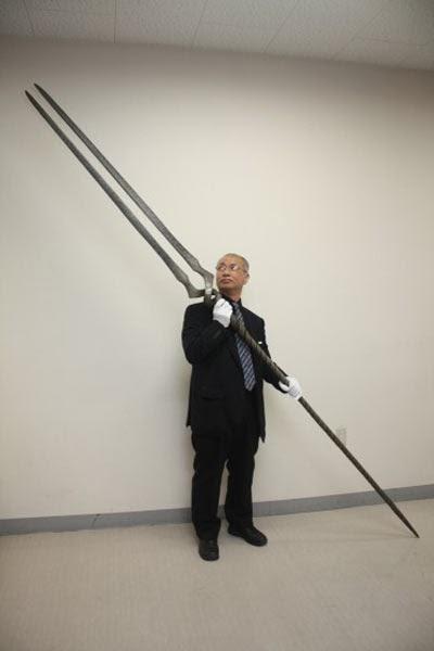 lancia longino mostra evangelion spade