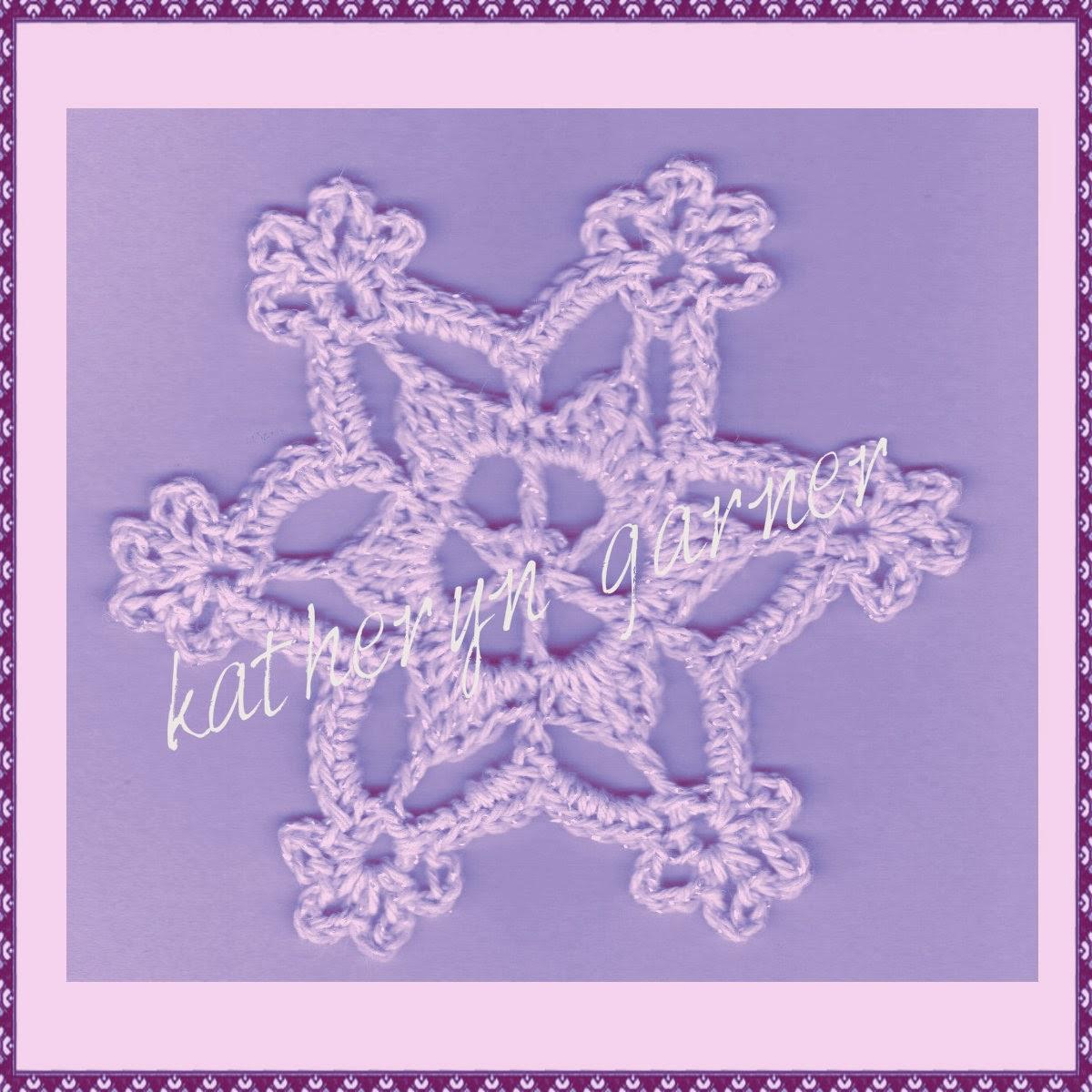 Crochet Snowflake Patterns For Beginners : THREAD N STITCHES: BEGINNER SNOWFLAKE