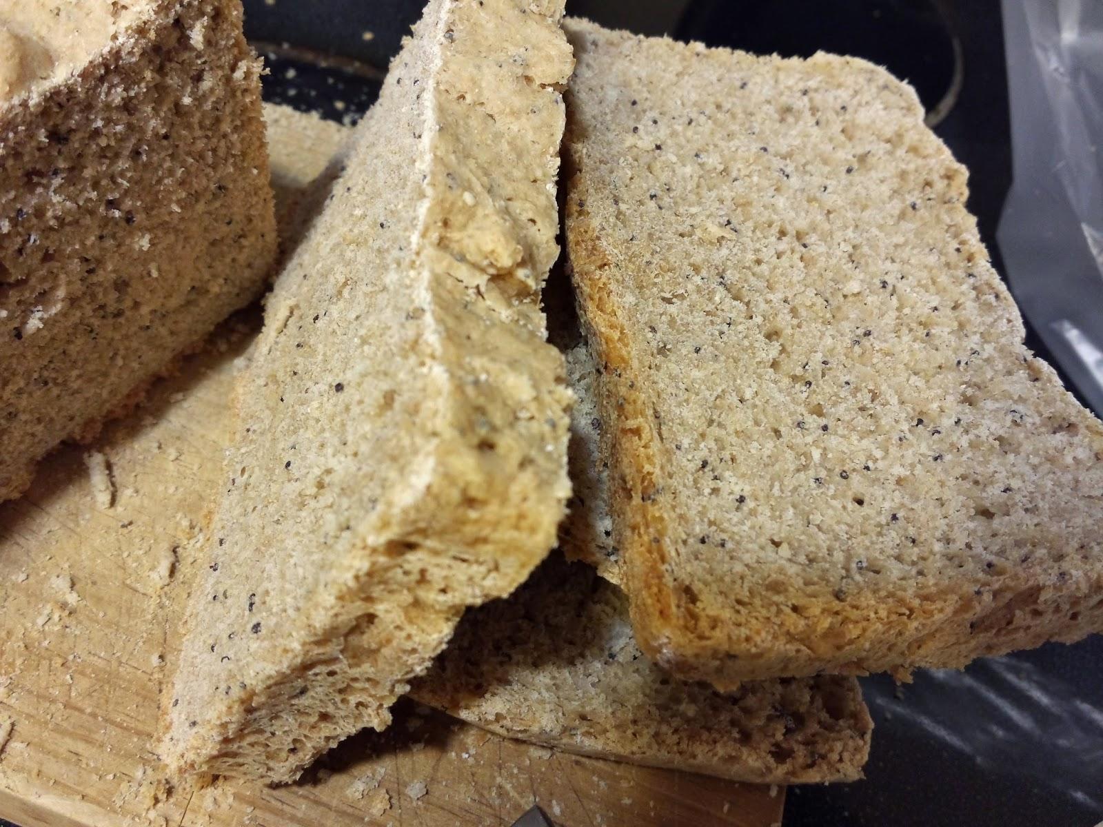Pan integral con panificadora