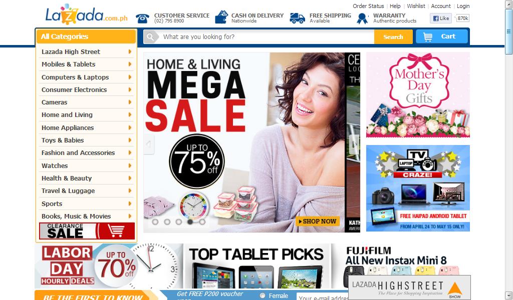 Lazada online shopping philippines