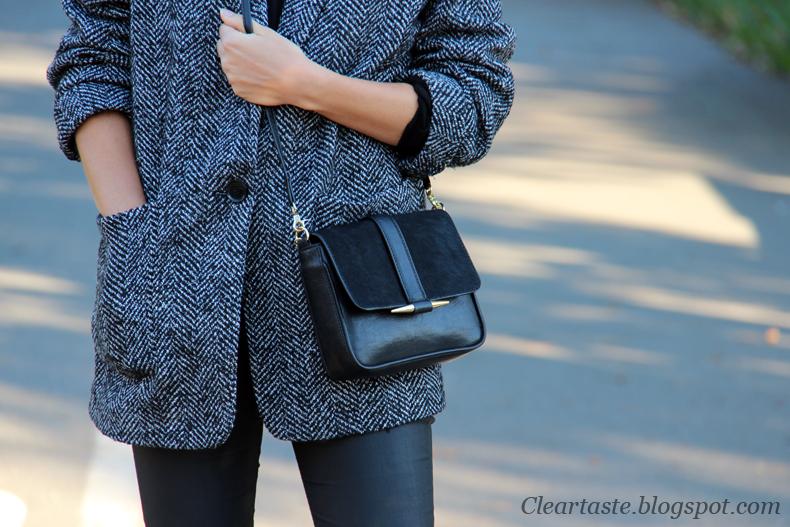 czarna torebka-zara